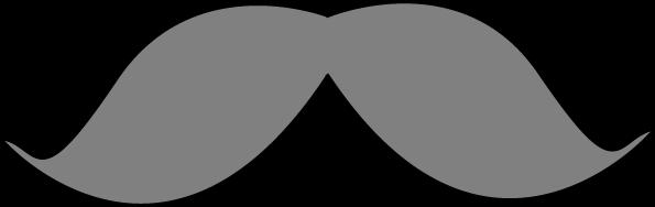 Gray Mustache