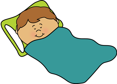 Sleeping Kid Clip Art