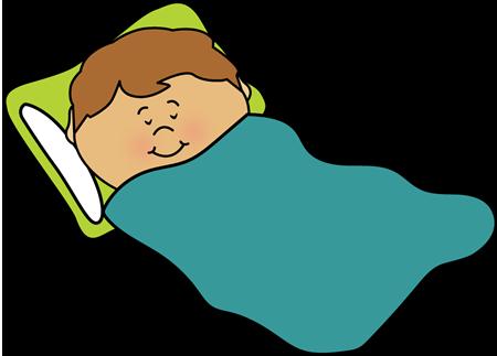 Sleeping Kid Clip Art