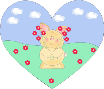 Bunny Heart Scene