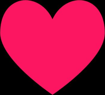 Clip Art Pink Heart Clipart heart clip art images dark pink heart