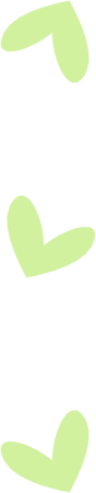 Green Heart Divider
