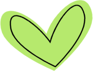 Modern Green Heart