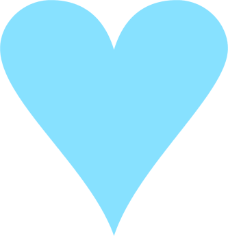 Sky Blue Heart