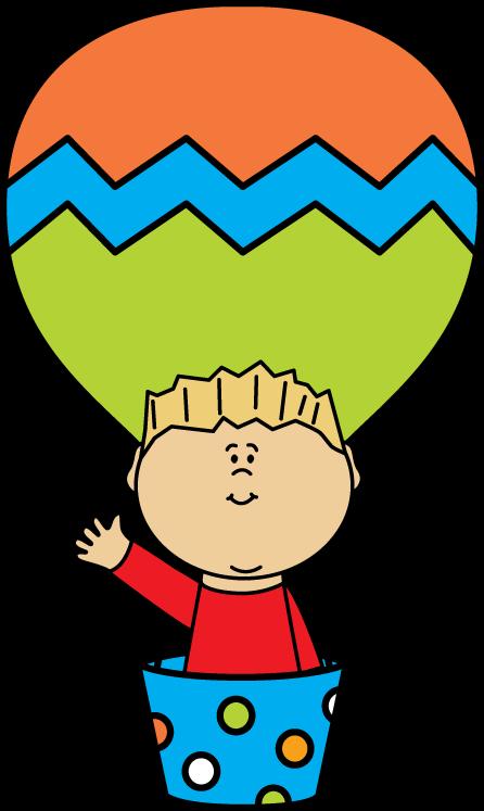 Boy in a Hot Air Balloon