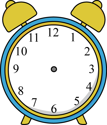 Alarm Clock Without Hands Clip Art Alarm Clock Without