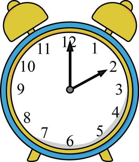 Alarm Clock Clip Art Image - blue and yellow alarm clock.: www.mycutegraphics.com/graphics/clock/alarm-clock.html