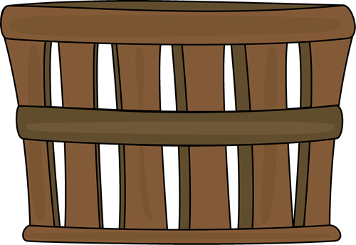 Brown Basket Clip Art Brown Basket Image