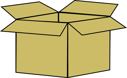 Box Clip Art Image - brown cardboard box.: www.mycutegraphics.com/graphics/storage/box.html