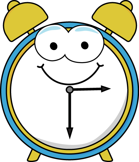 ... Alarm Clock Clip Art Image - alarm clock with a fun cartoon face