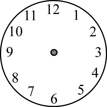 clock face without hands clip art - clock face without hands image