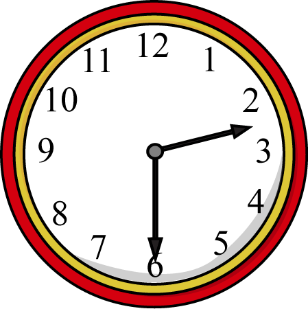 Half Past the Hour Clock