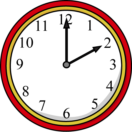 Clock on the Hour