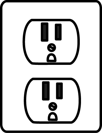 Electrical Outlet Clip Art - Electrical Outlet Image
