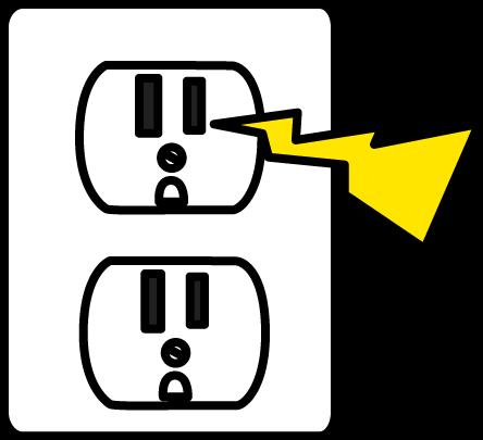 electrical zap clip art electrical zap image