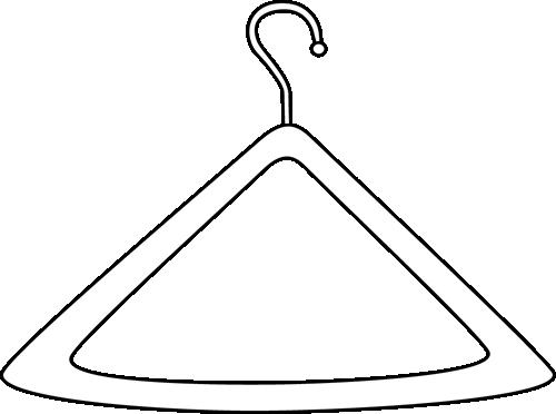 Black and White Hanger