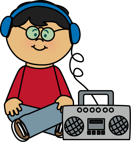 radio clip art radio images rh mycutegraphics com listening to music clipart boy listening to music clipart