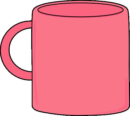 Pink Mug Clip Art - Pink Mug Image