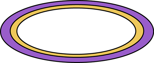Purple Oval Rug Clip Art