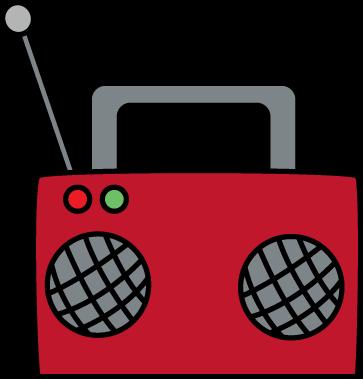 Radio Clip Art - Radio Images - 17.9KB