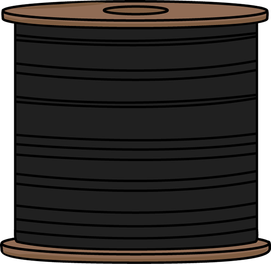 Black Spool of Thread