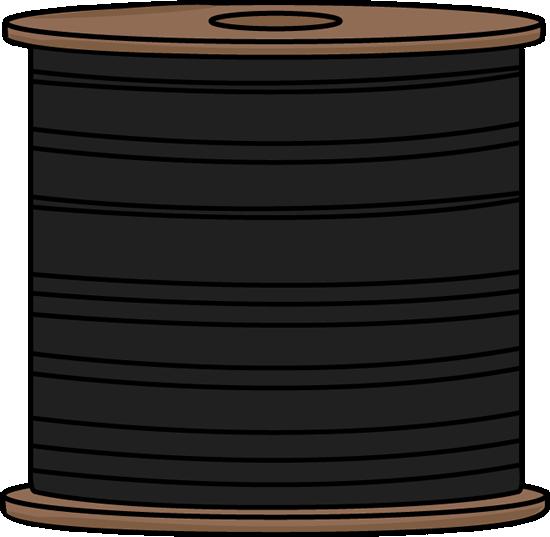 Black Spool of Thread