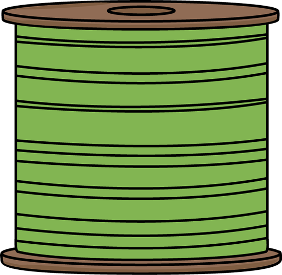 Spool of Green Thread