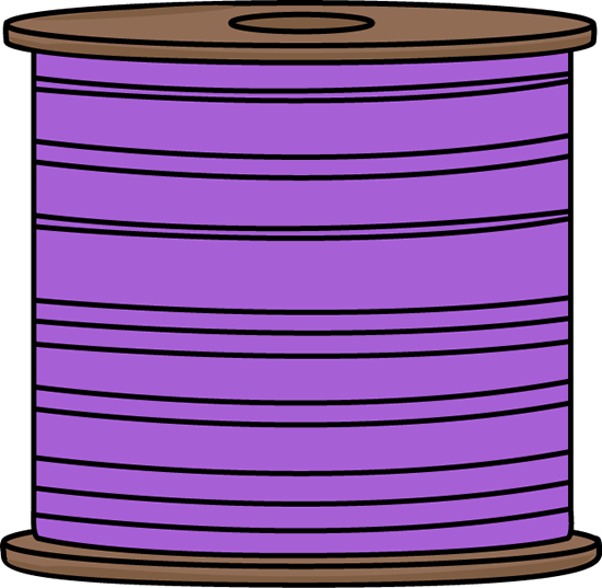 Spool of Purple Thread