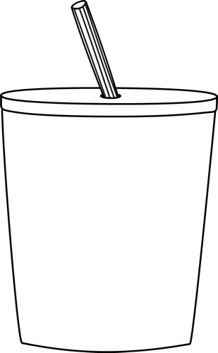 Black and White To Go Cup
