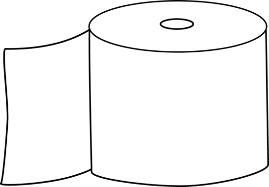 black and white toilet paper clip art black and white