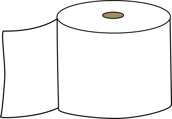 Toilet paper clip art toilet paper image for Black and white bathroom paper