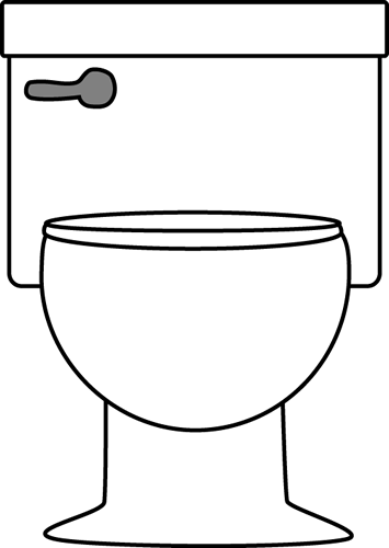 Toilet clip art toilet image - Rideau de douche transparent ...