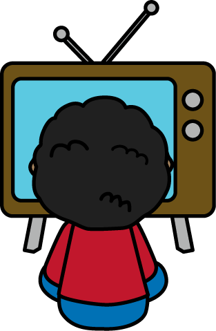 Clip Art Television Clip Art tv clip art images child watching tv