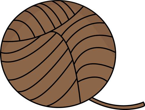 Brown Ball of Yarn