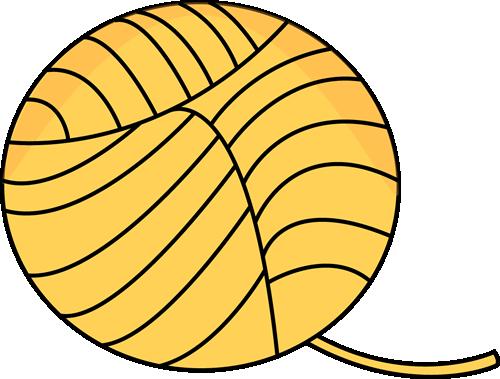 Yellow Ball of Yarn