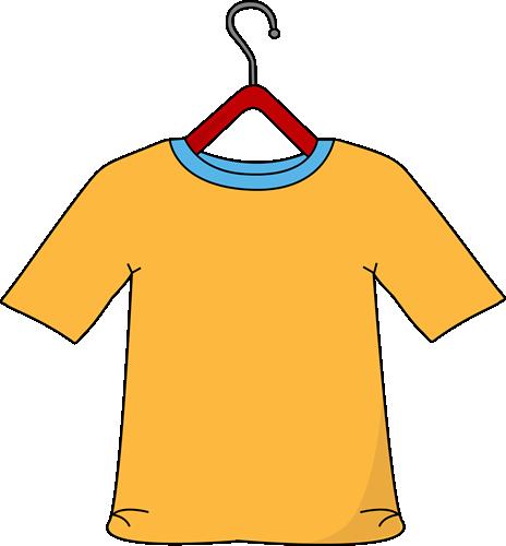 Yellow Shirt on a Hanger