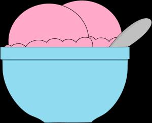 Bowl Of Strawberry Ice Cream Clip Art Bowl Of Strawberry