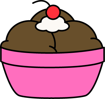 Chocolate Ice Cream Clip Art