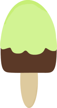 Green Ice Cream Bar