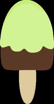 Green Ice Cream Bar