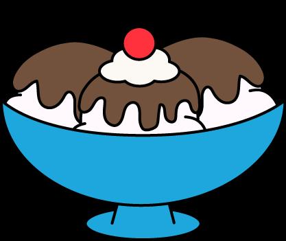 Hot Fudge Sundae Clip Art