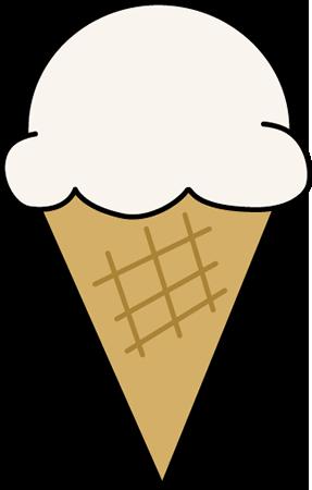 Vanilla Ice Cream Clip Art