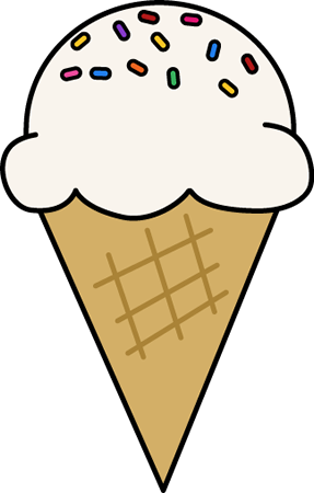 Sprinkles Ice Cream Cone