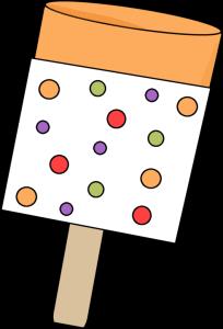 Orange Push pop