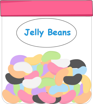 Jelly Bean Clip Art