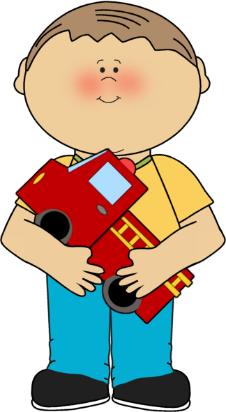 Clip Art Little Boy Clip Art kids clip art images boy with a firetruck