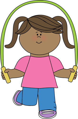 Girl with Jump Rope