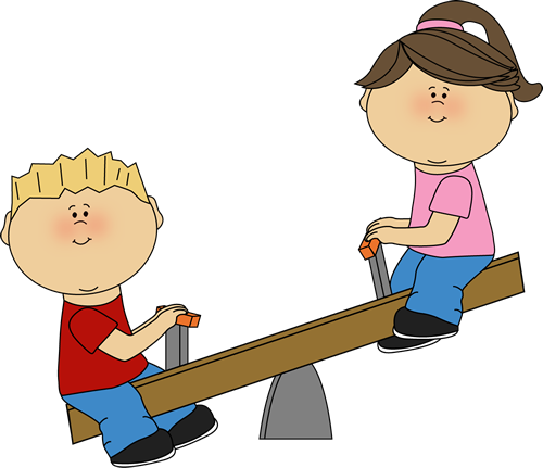 Kids on a Seesaw