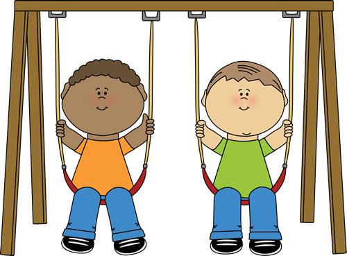Kids on a Swing