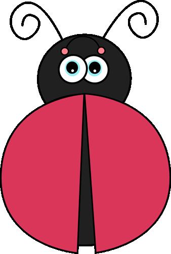 Ladybug without Spots Clip Art Image - red ladybug without spots.